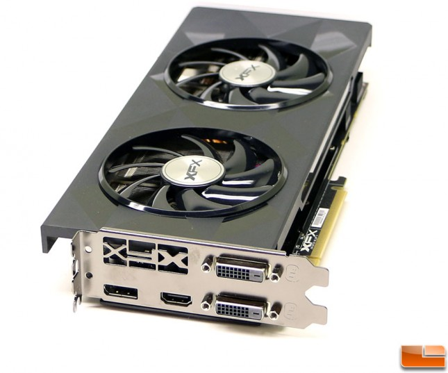 XFX Radeon R9 390 8GB Video Connectors