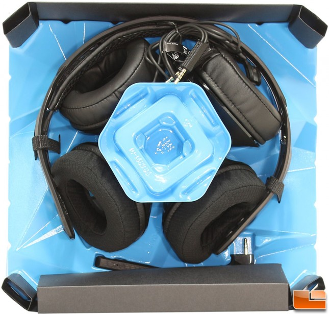 Plantronics RIG 500E Packaging Internal