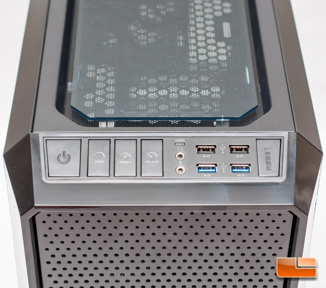 RIOTORO Prism CR1280 - I/O Panel
