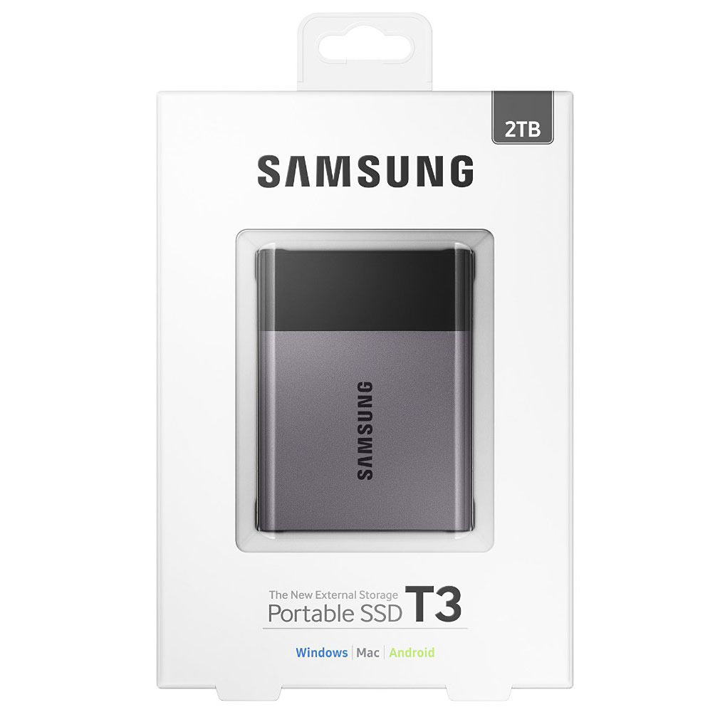 Samsung Portable SSD T3 2TB Review - Legit ReviewsSamsung ...