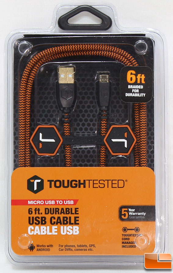 Toughtested Rugged Micro-usb Cable Review