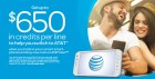 AT&T $650 Switch Offer
