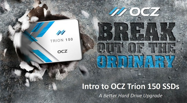 OCZ Break Out Of The Ordinary