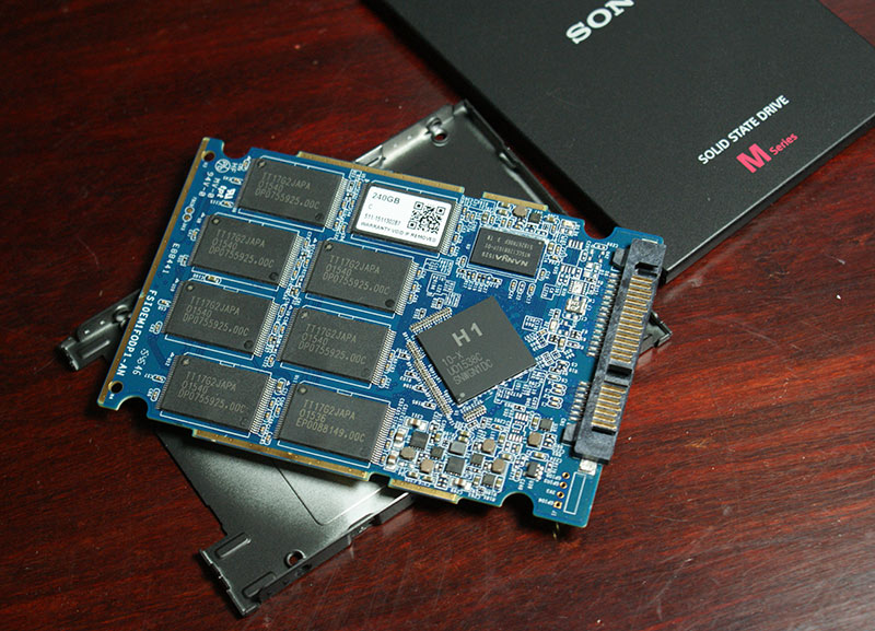Sony Now Making Consumer SSDs - SLW-M Series Debuts With Phison S10