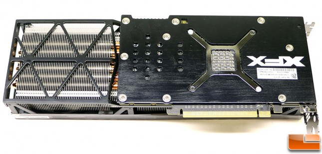 XFX Radeon R9 Fury Video Card Back