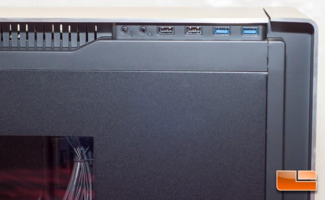 Antec P380 - I/O Panel