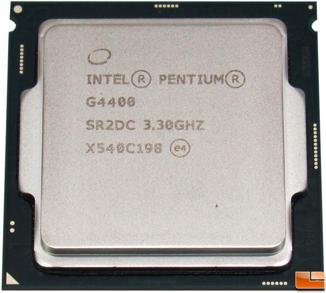 Intel Pentium G4400 CPU