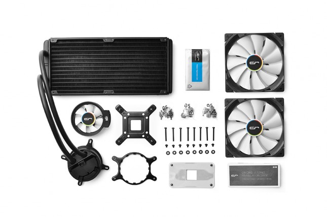 Cryorig A80 Box Contents (Stock Photo)