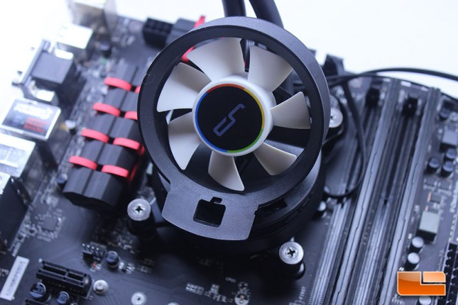 Cryorig A80 with Airflow Fan