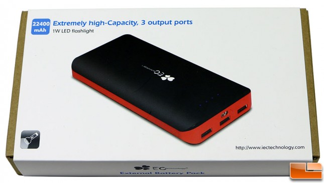 EC Technology 22400mAh Battery