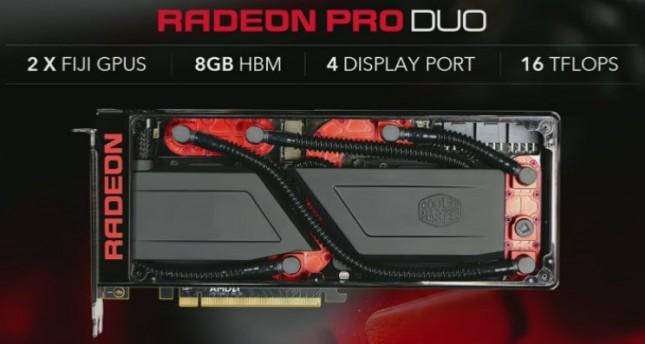 Radeon Pro Duo Cooler Master Water Cooler