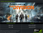 Tom Clancy's The Division nvidia recommended GPUs