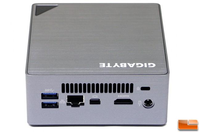 Gigabyte BRIX S BSi7-6500 Back I/O Panel