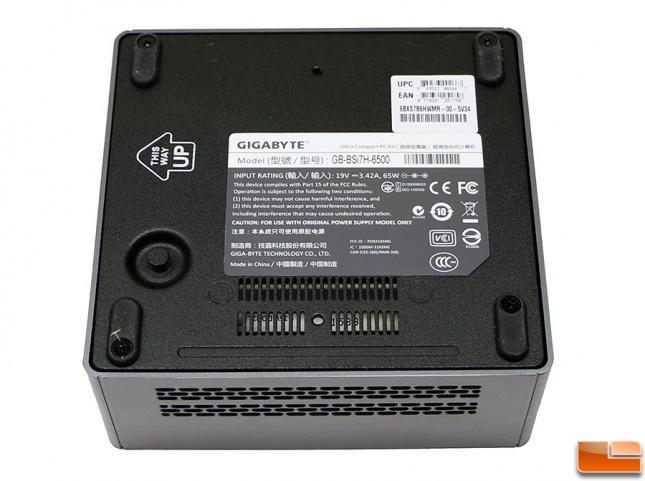 BRIX GB-BSi7-6500 Bottom