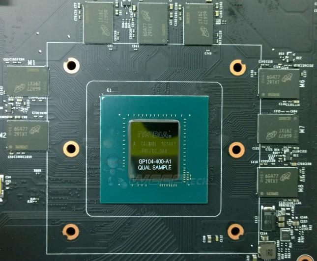 NVIDIA Pascal GP104 400 A1 GPU