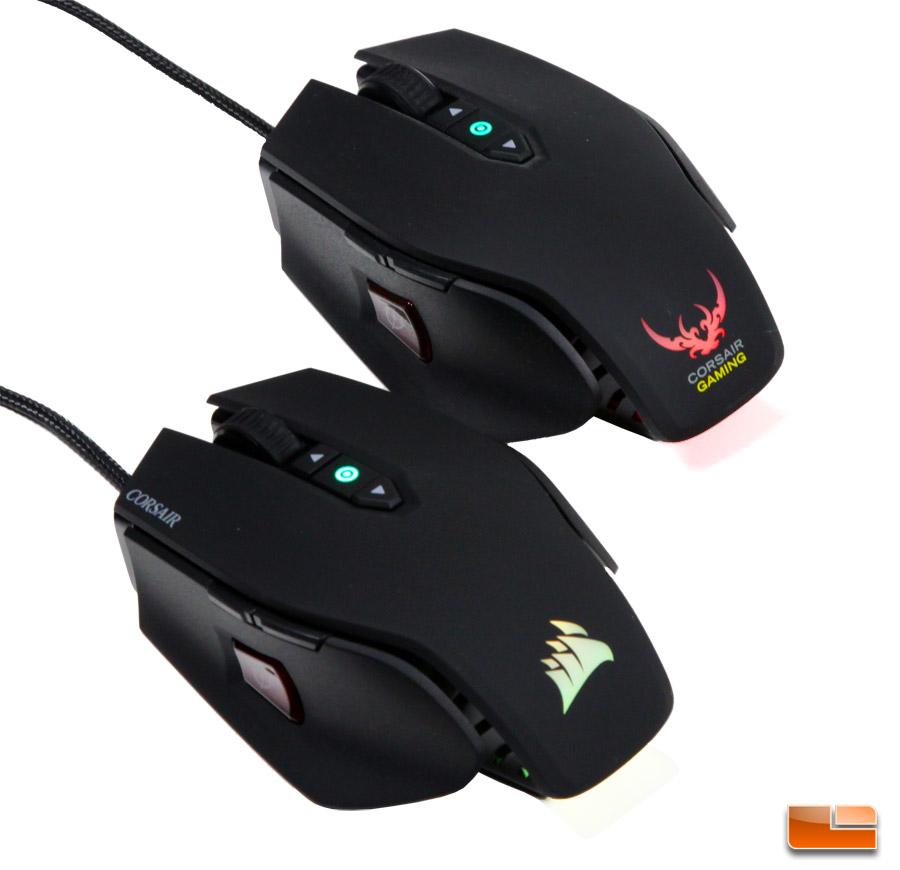 corsair - m65 pro rgb optical gaming mouse