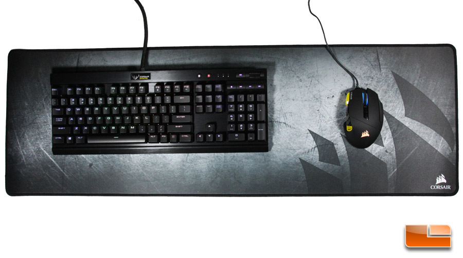 Corsair Gaming Mm300 Anti Fray Cloth Mouse Mat Extended