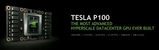 NVIDIA Tesla p100