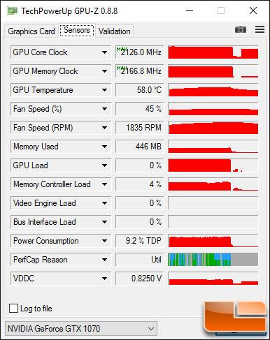 GeForce GTX 1070 Overclock