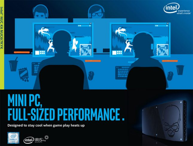 Intel NUC Kit NUC6i7KYK