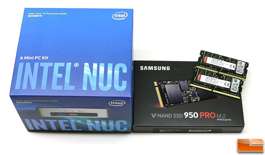 Intel nuc6i5syk drivers