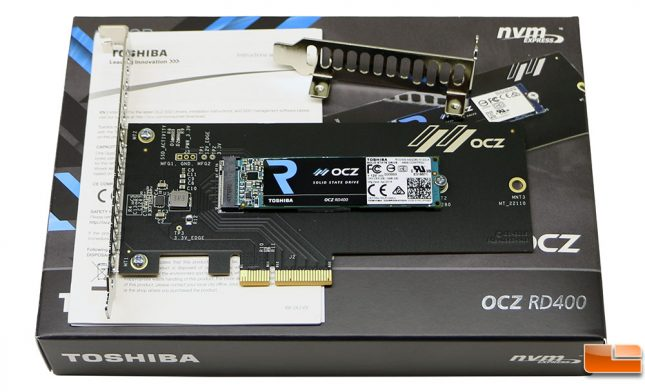 What's Inside The Toshiba OCZ RD400 Retail Packaging
