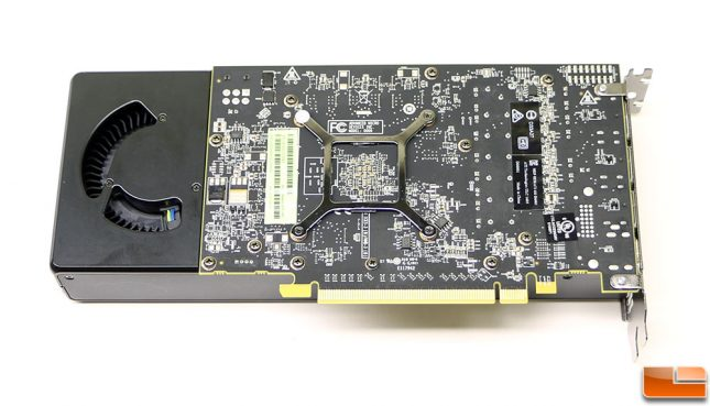AMD Radeon RX 480 Video Card Back