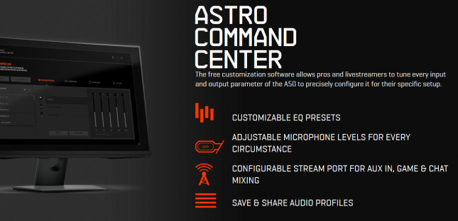 how to use astro command center