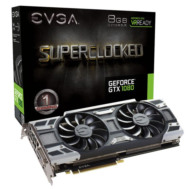 EVGA GeForce GTX 1080 SuperClock
