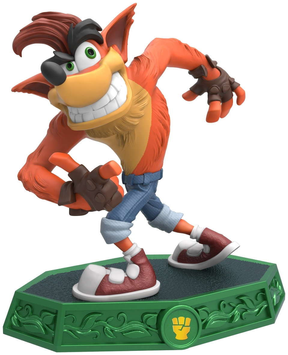 Crash bandicoot is back in skylanders imaginators and in - Image skylanders ...