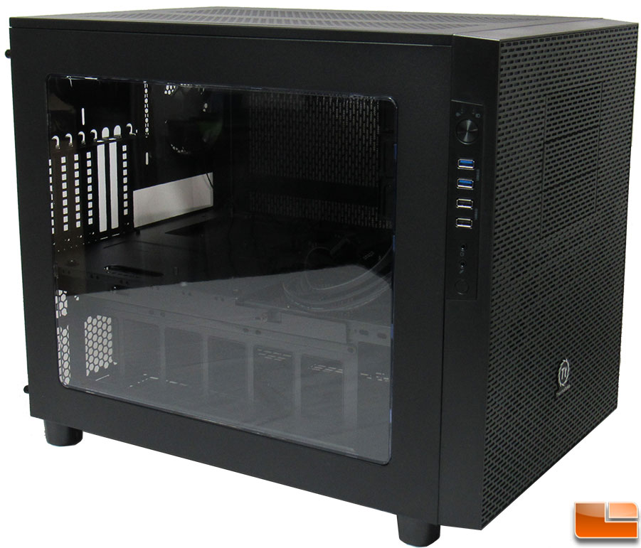 thermaltake core x5 cube chassis review page 2 of 5 legit reviewsthermaltake core x5 exterior. Black Bedroom Furniture Sets. Home Design Ideas