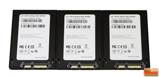 ADATA Premier SP550 SSDs Back Label