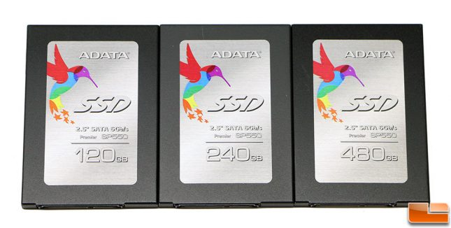ADATA Premier SP550 SSDs
