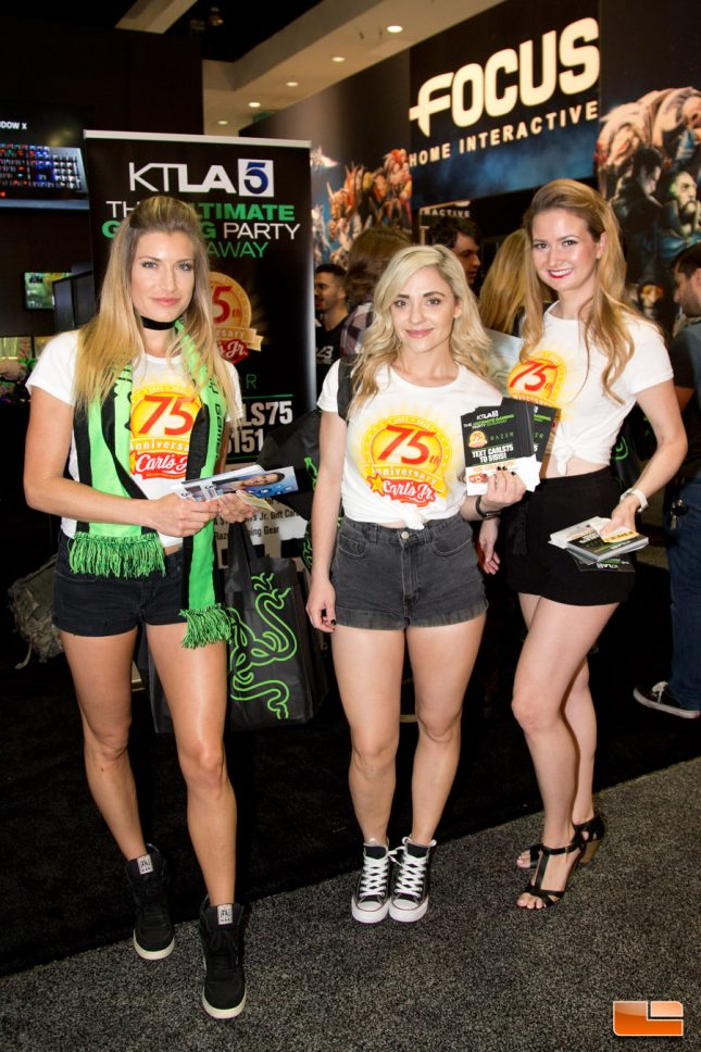 E3 2016 Booth Babes and Etc