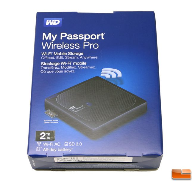 My Passport Wireless Pro Retail Bundle