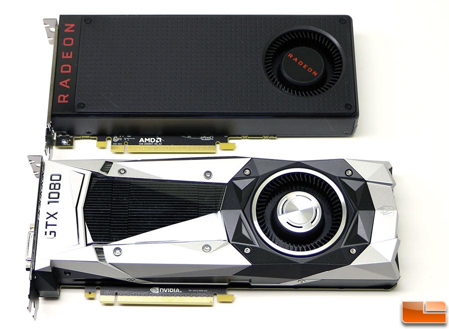 AMD Radeon RX 480 versus GeForce GTX 1080
