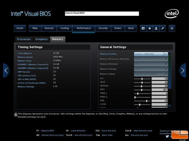Crucial Ballistix XMP Profile