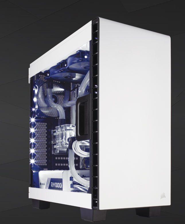 Corsair Carbide 400C White and PSU