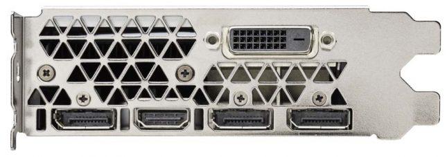 GeForce GTX 1060 Video Outputs