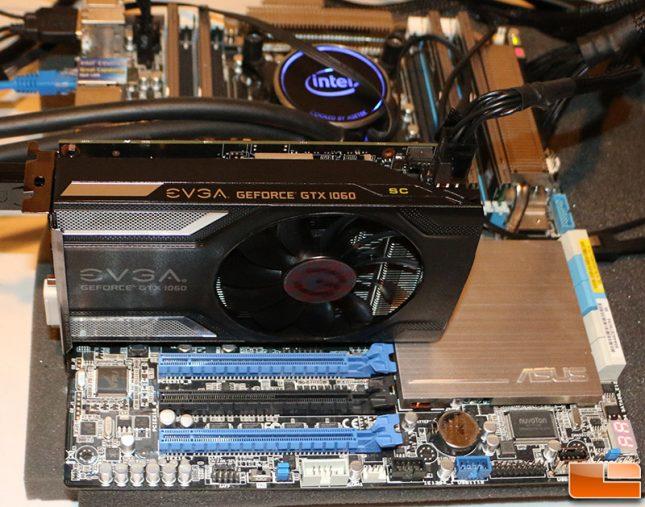 GeForce GTX 1060 Test System