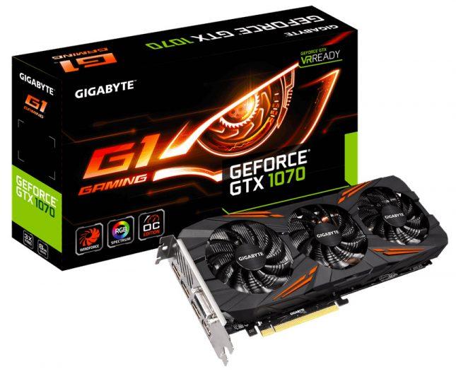 Gigabyte G1 Gaming GTX 1070