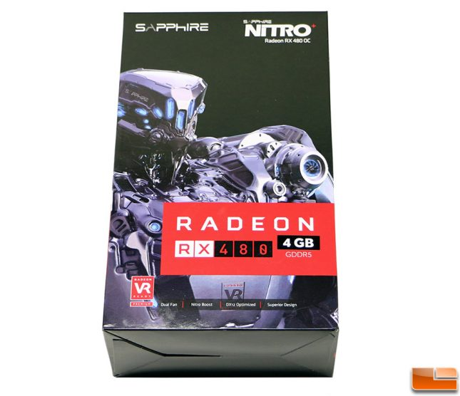 Sapphire Nitro Radeon RX480 Retail Box