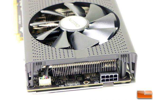 Sapphire Nitro Radeon RX 480 Graphics Card 8-pin power connector
