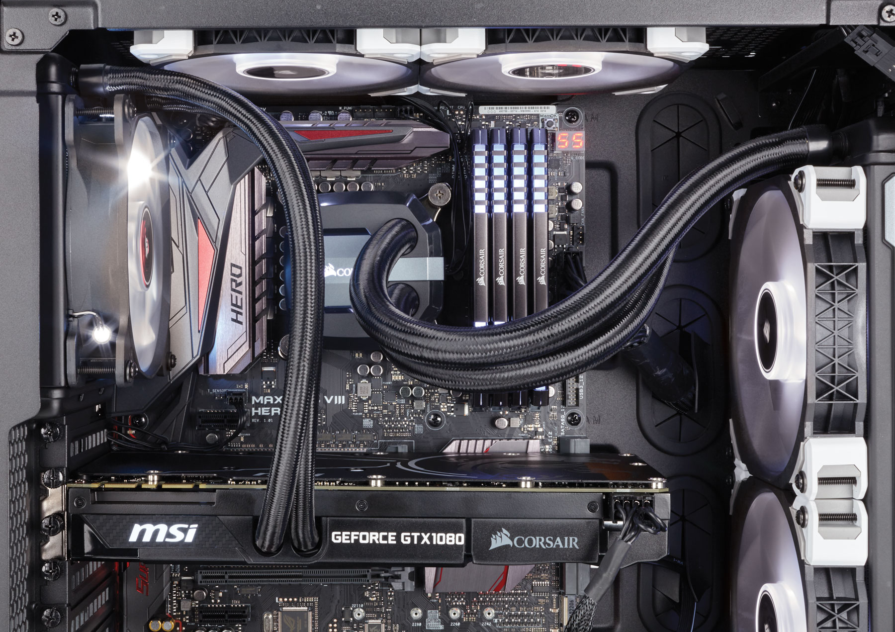 Corsair Launches Hydro Gfx Gtx 1080 Liquid Cooled Graphics
