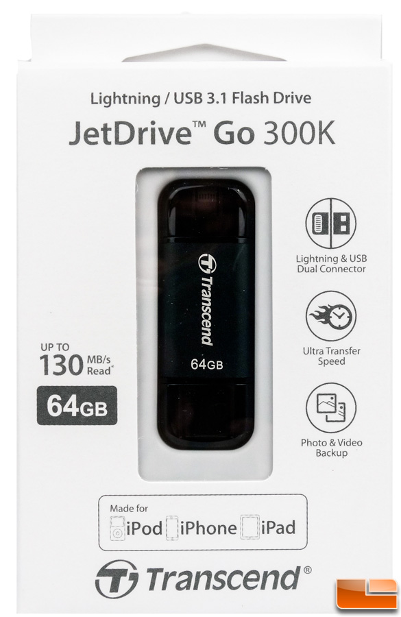 JetDrive Go 300 Box Front