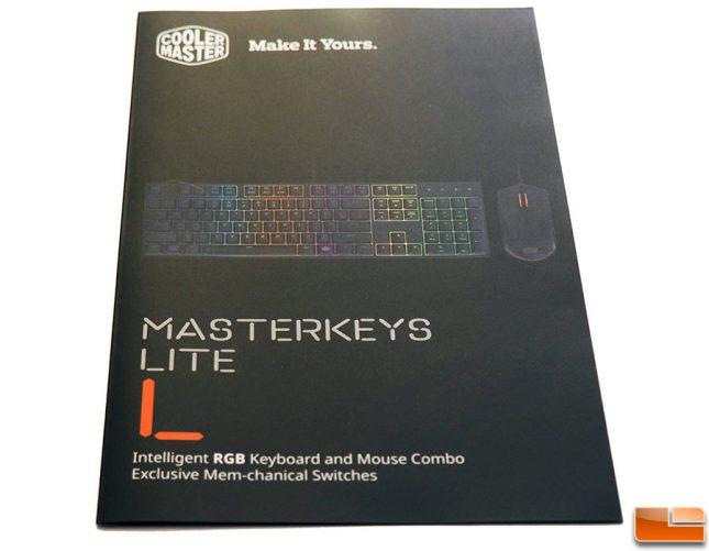 Masterkeys Lite L Combo Manual