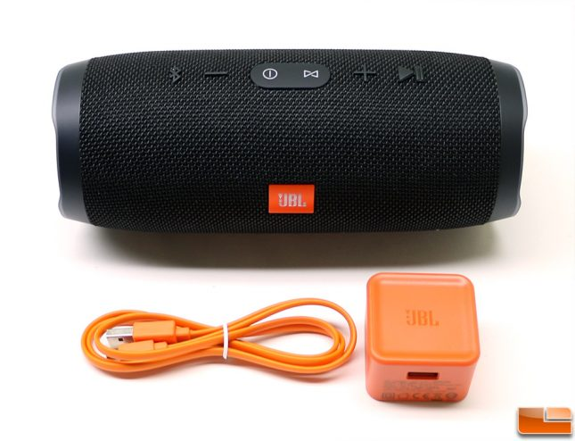 JBL Charge 3 Retail Box Accessories