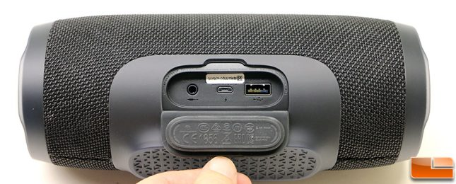 JBL Charge 3 USB and Power Port