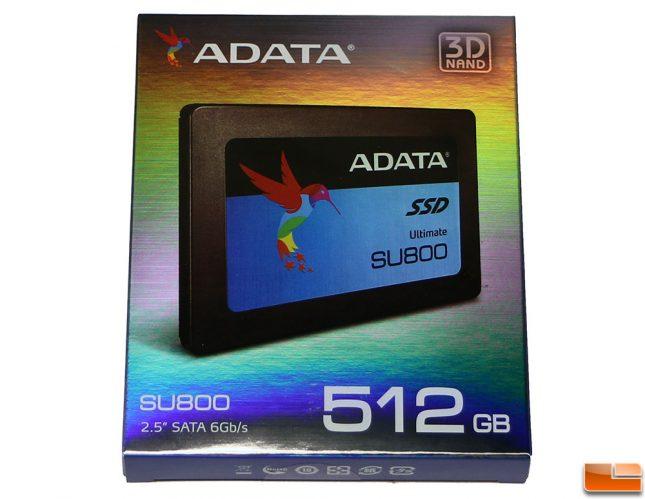ADATA SU800 512GB SSD Retail Box