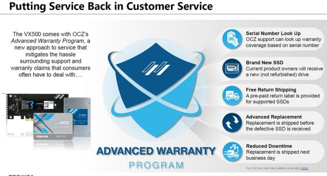 OCZ Advanced Warranty Program